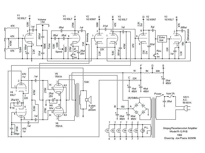 ampeg reverberocket schematic