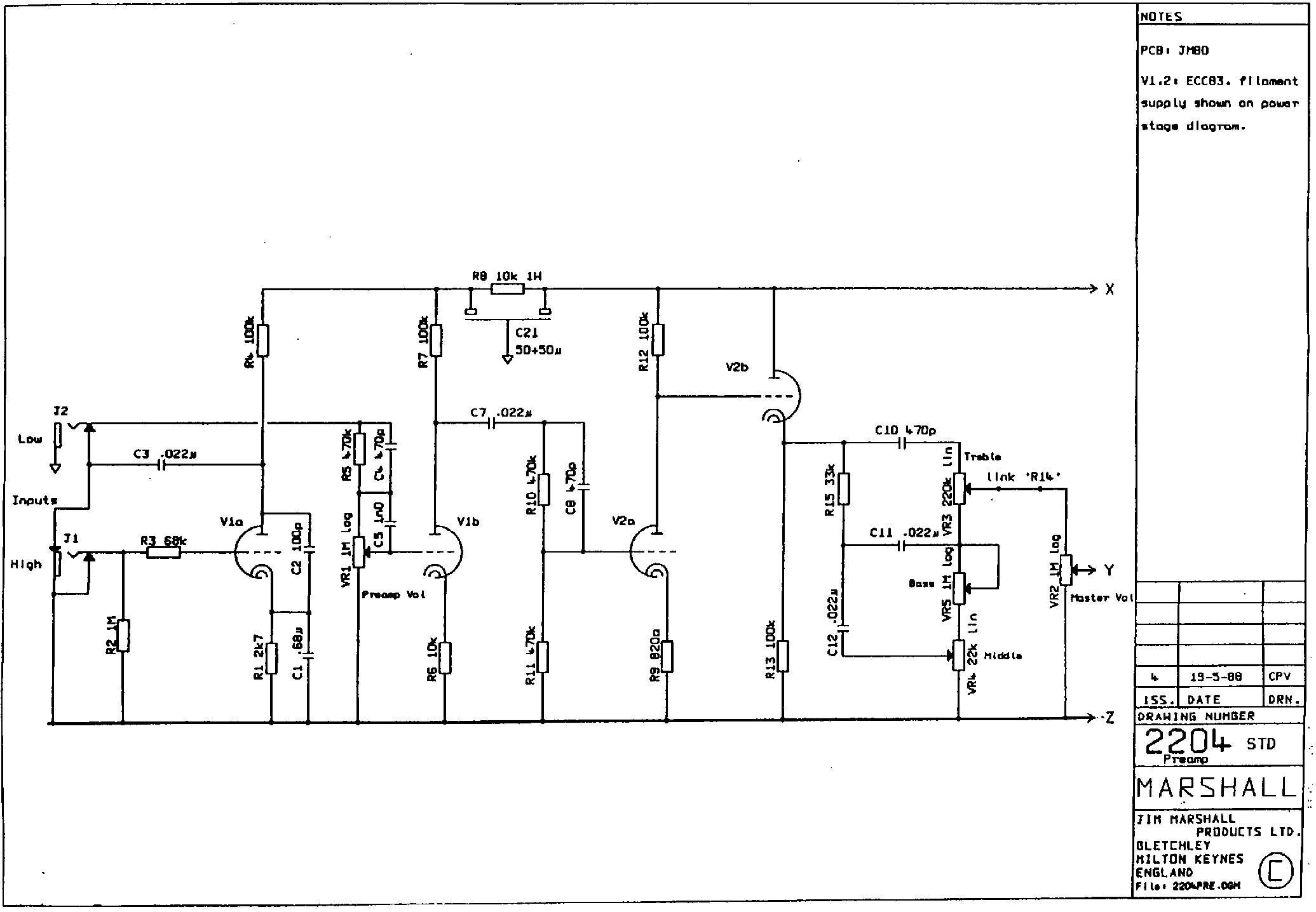 Схемы на микросхемах.  Схема умзч на микросхеме стерео.