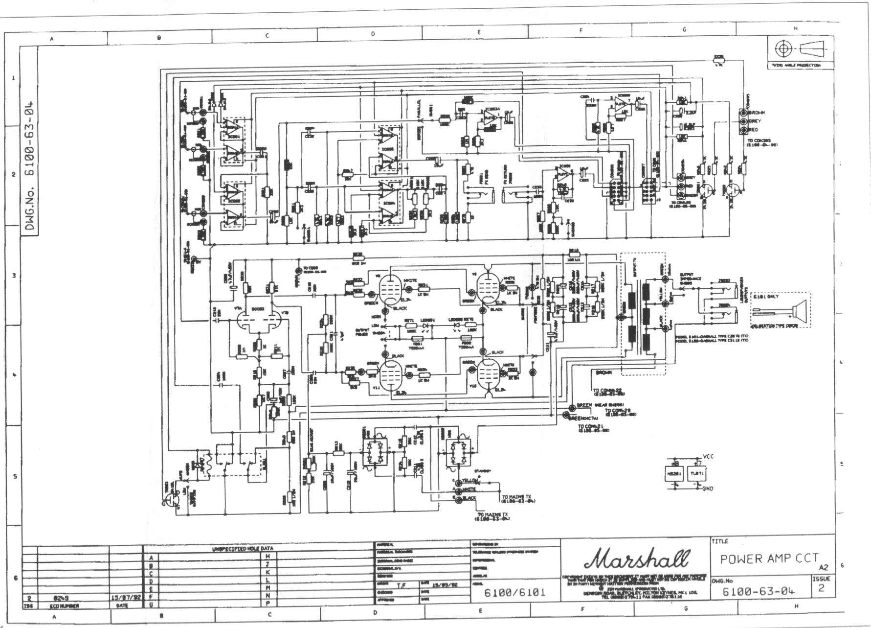 Marshall As50d Circuit Diagram
