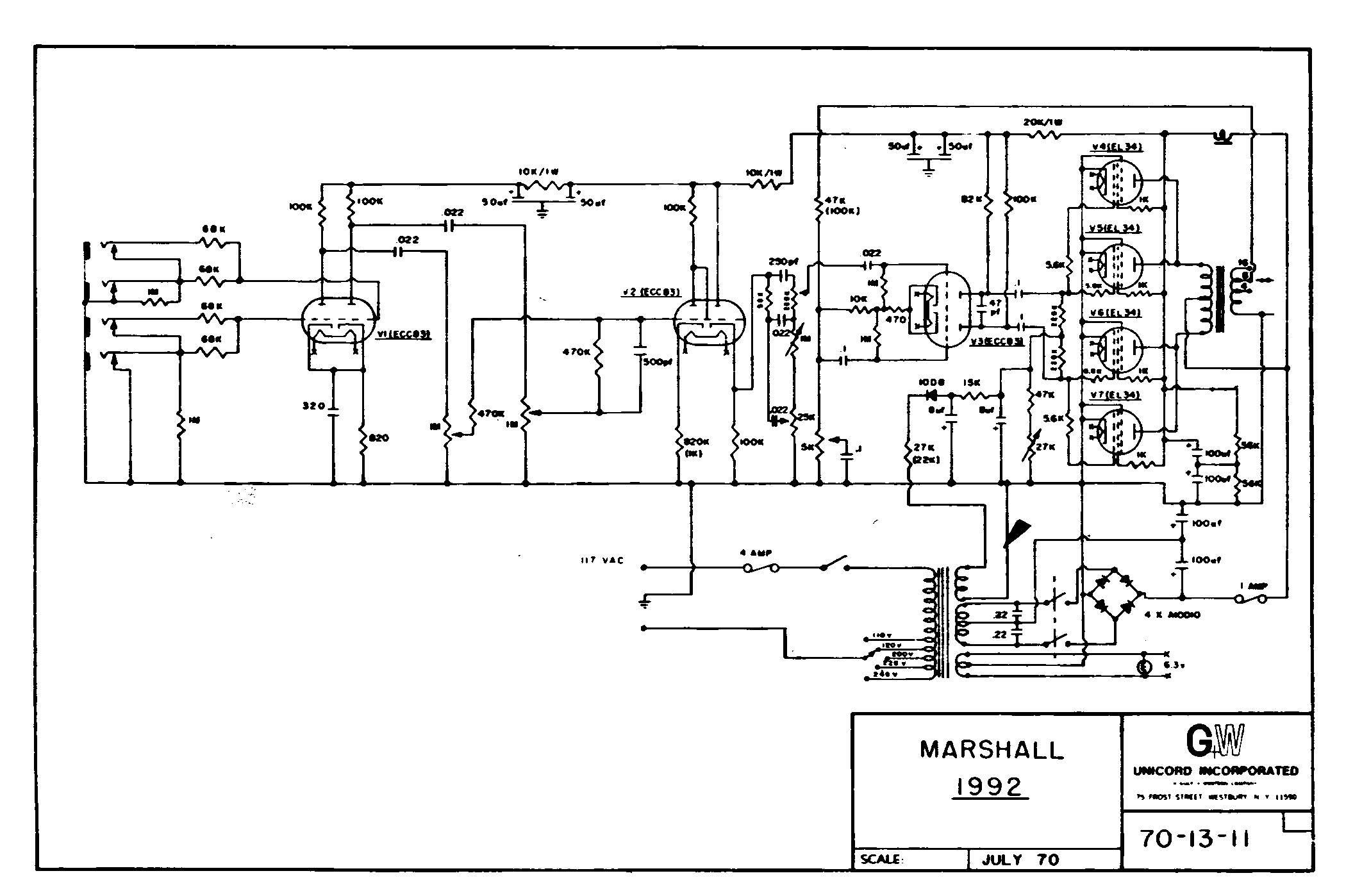 marshall jtm45 schematic