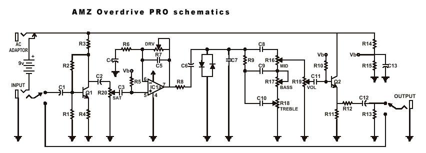 Схема Other-AMZ Overdrive PRO