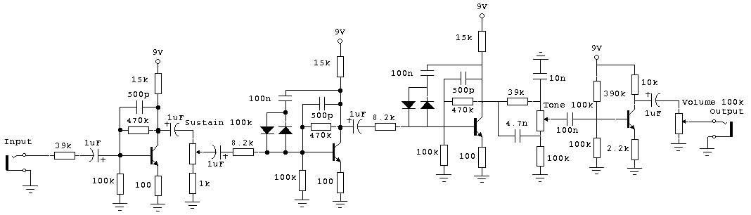 Схема Electro Harmonix-Big