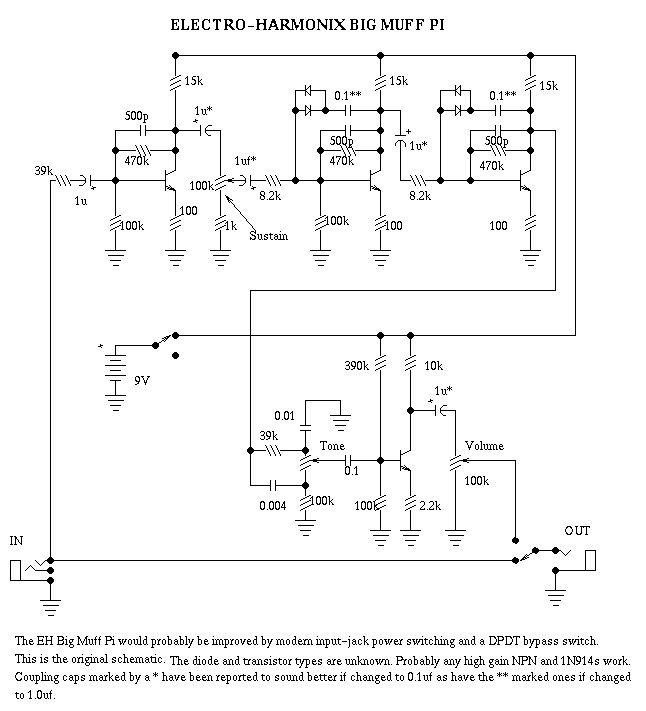 Дисторшн транзисторах (4 шт.)