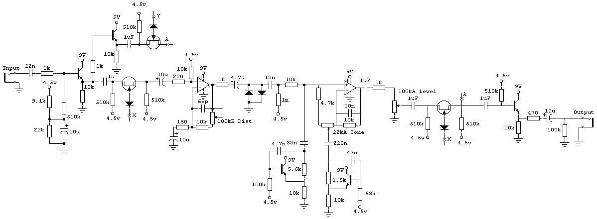 Дисторшн на транзисторах и ОУ