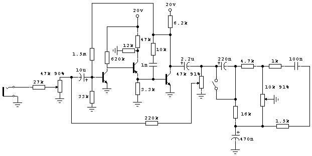Предварительный усилитель на транзисторе своими руками