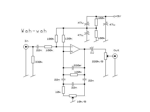 Схема Other-Wah Wah v1
