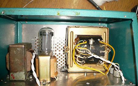DL-55. Используемые трансформаторы