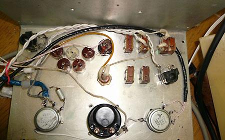 DL-55. Продолжается распайка панели управления