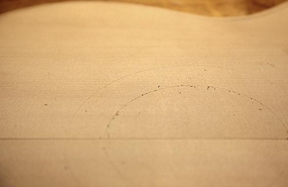 Контур розетки после обводки