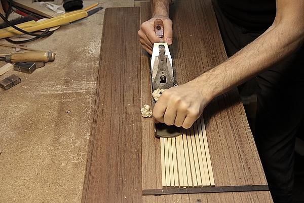 Подготовка рабочие плоскости пружин