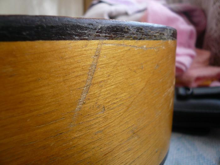 Царапины на корпусе инструмента