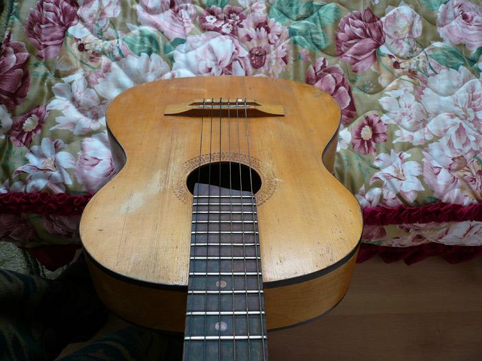 Корпус гитары
