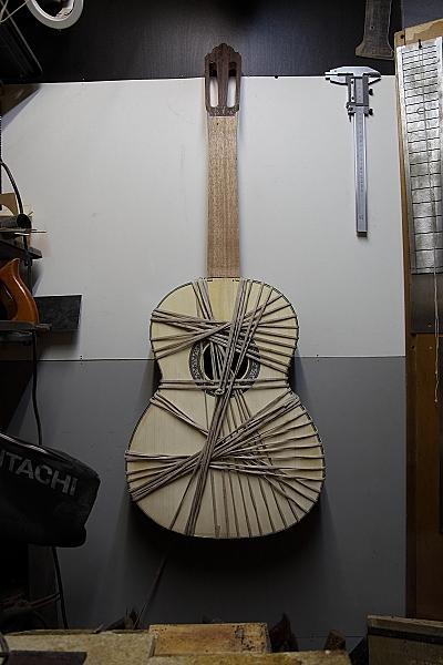 Создание классической гитары. Собираем корпус